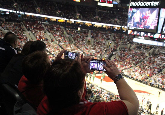 Living with Tech: Sports + The Game Day Experience