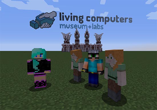 Hunt for Easter eggs on our Minecraft servers